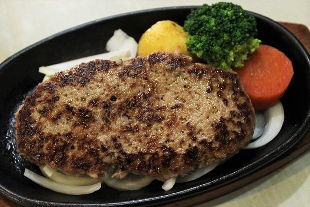 牛100%ハンバーグステーキ